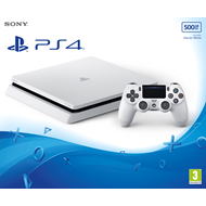 Playstation 4 - 500GB Slim - Glacier White