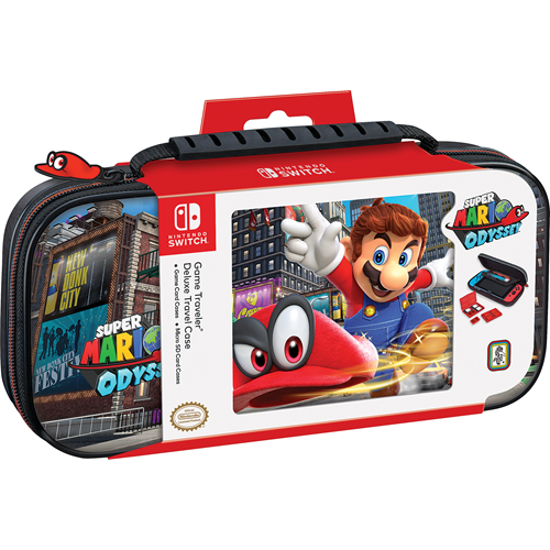 Nintendo Switch Deluxe Travel Case -  Mario Odyssey