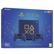 Playstation 4 - 500GB Slim - Days of Play Limited Edition