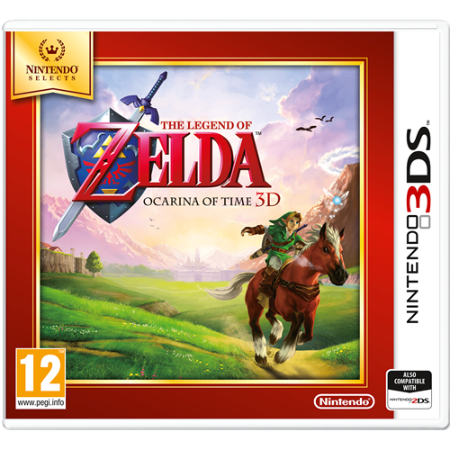The Legend Of Zelda: Ocarina Of Time 3D - Nintendo Selects