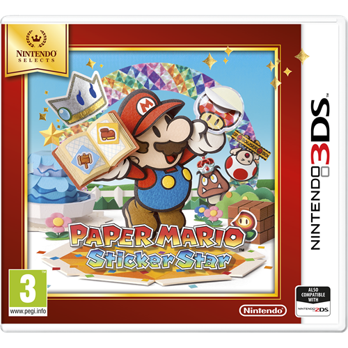 Paper Mario: Sticker Star - Nintendo Selects