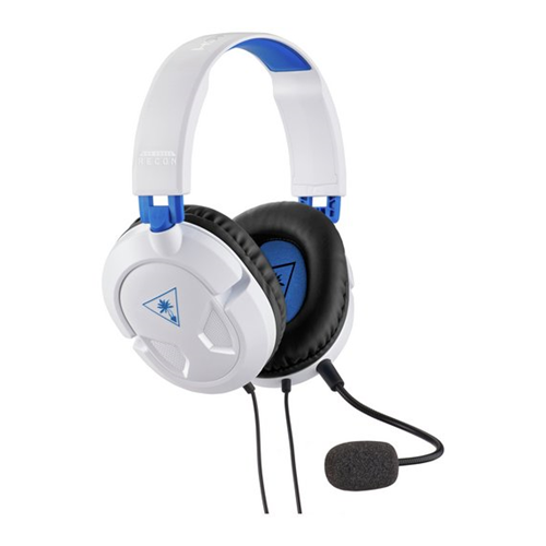 Turtle Beach Recon 50P - Gaming Headset (Hvit)