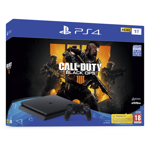 Playstation 4 1TB + Call Of Duty Black Ops 4