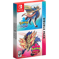 Produktbilde for Pokémon Sword and Pokemon Shield Dual pack