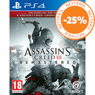 Produktbilde for Assassin's Creed III - Remastered