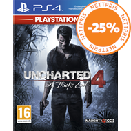 Produktbilde for Uncharted 4: A Thief's End - Playstation HITS