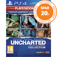 Produktbilde for Uncharted: The Nathan Drake Collection - Playstation HITS