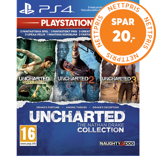 Uncharted: The Nathan Drake Collection - Playstation HITS