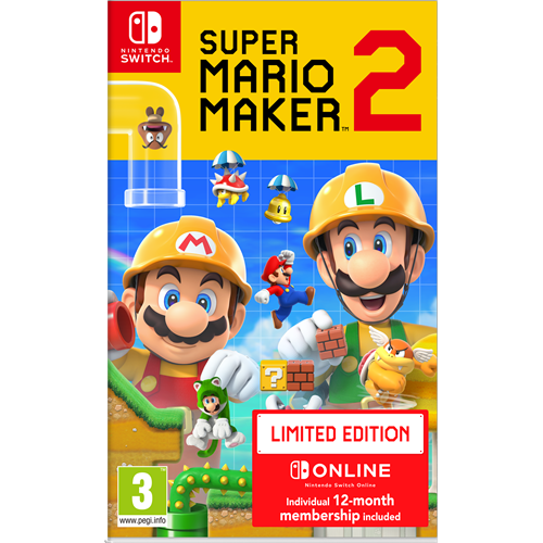 Super Mario Maker 2 - Limited Edition