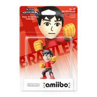 Amiibo Super Smash Bros. Mii Brawler