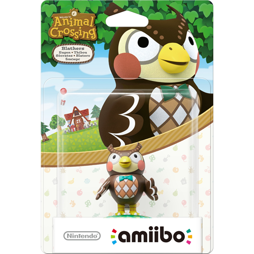 Amiibo Animal Crossing Collection Blathers
