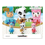 Amiibo Animal Crossing Collection 3-Pack (K.K Slider, Reese & Cyrus)