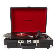 Crosley Cruiser Portable Turntable - Black (PLATESPILLER)
