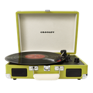 Crosley Cruiser Portable Turntable - Green (PLATESPILLER)