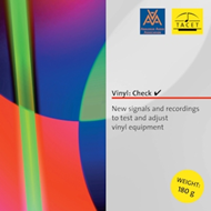 Tacet Vinyl Check - New Signals & Recordings to Test And Adjust Vinyl Equipment (TESTPLATE)