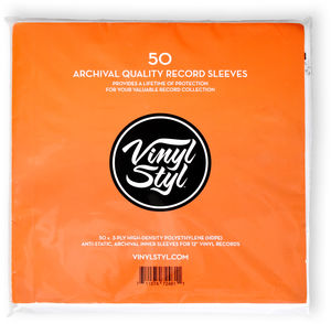 Vinyl Styl Archive Quality Inner Record Sleeve 50pk