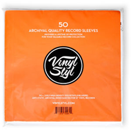 Vinyl Styl Archive Quality Inner Record Sleeve - 50pk (LP)