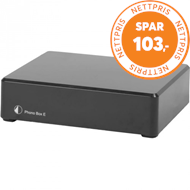 Produktbilde for Pro-ject Phono Box E - Svart (RIAA-FORFORSTERKER)