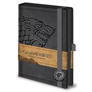 Game Of Thrones (Stark) - Premium A5 Notebook (NOTABOK)