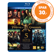 Produktbilde for Pirates Of The Caribbean - 5-Movie Collection (BLU-RAY)