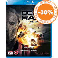 Produktbilde for Death Race Trilogy (BLU-RAY)