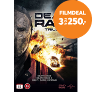 Produktbilde for Death Race Trilogy (DVD)
