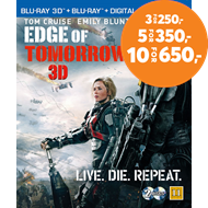 Produktbilde for Edge Of Tomorrow (Blu-ray 3D + Blu-ray)