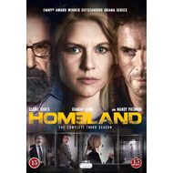 Produktbilde for Homeland - Sesong 3 (DVD)