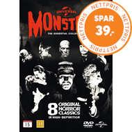 Produktbilde for Universal Classic Monsters - The Essential Collection (DVD)