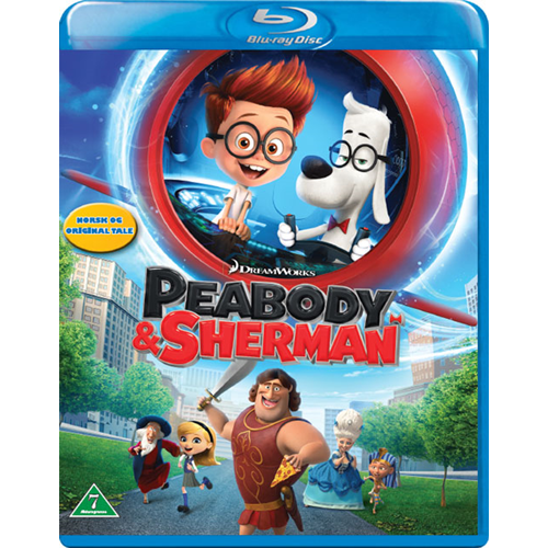 Peabody & Sherman (BLU-RAY)