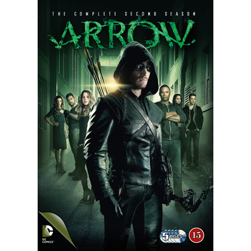 Arrow - Sesong 2 (DVD)