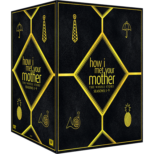 How I Met Your Mother - The Whole Story: Sesong 1 - 9 (DVD)