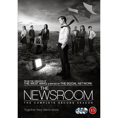 The Newsroom - Sesong 2 (DVD)