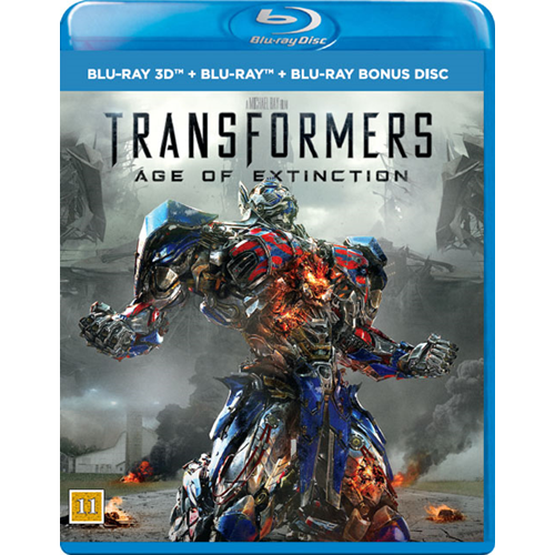Transformers - Age Of Extinction (Blu-ray 3D + Blu-ray)