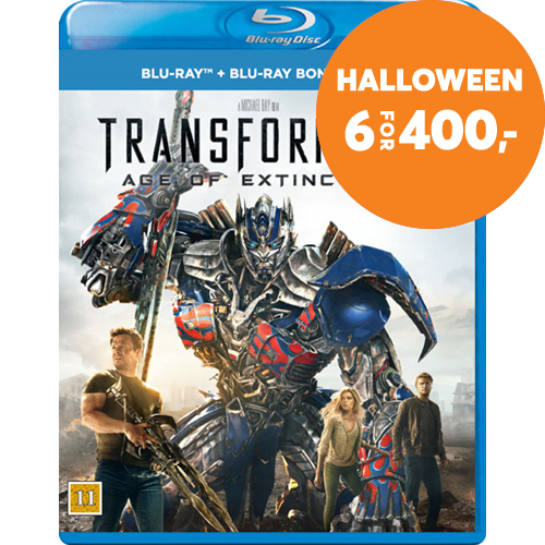 Transformers 4 - Age Of Extinction (BLU-RAY)